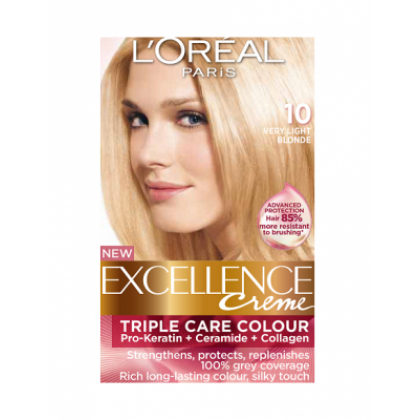 Loreal Excellence Creme 10 Very Light Blonde