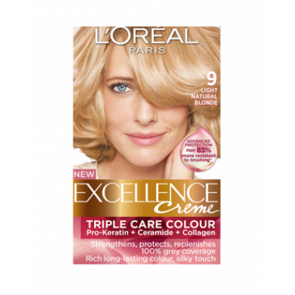 Loreal Excellence Creme 9 Light Natural Blonde