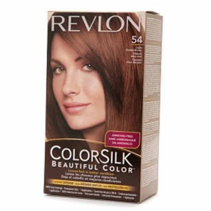 Revlon Colorsilk Hair Color Dye - Light Golden Brown 54