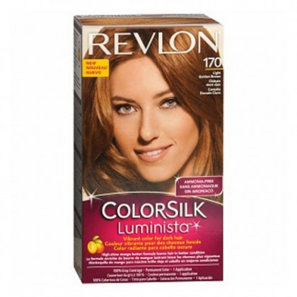 Revlon ColorSilk Luminista Hair Color Dye - Light Golden Brown 170