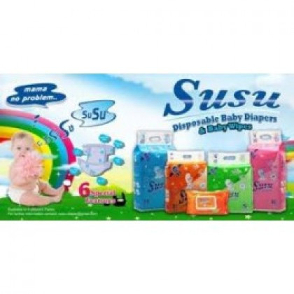 Susu Diapers Budget Pack Small (54Pcs)