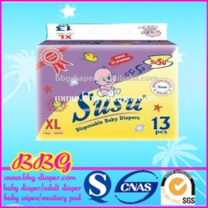 Susu Diapers Value Pack Xl (13Pcs)