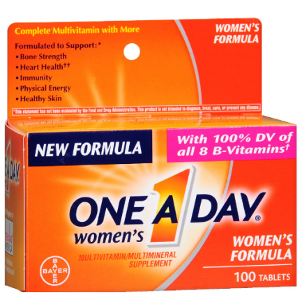 One A Day women's Formula 100 tablets-Bayer