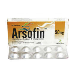 Medicalstore.com.pk- Arsofin 20 Tablets - 50 mg