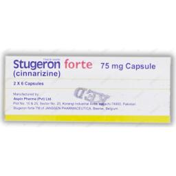 STUGERON FORTE 75mg Capsule 2x6s