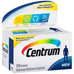 Centrum Silver Men 50 plus 120 tablets