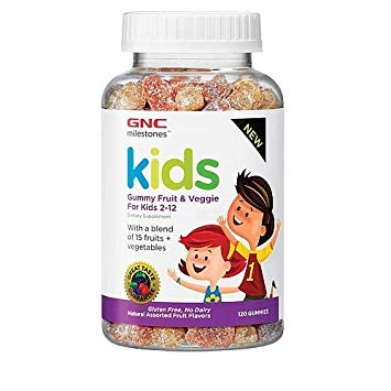Kids Gummy Fruit & Veggie for kids