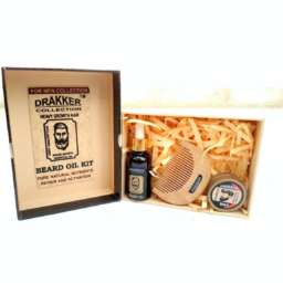 Drakker Collection-Beard oil kit Pure natural ingredients