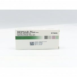 Bepsar Plus Tab 50mg 12.5mg 20s
