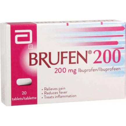 Brufen Plus tablet 200/20 mg 2×10's