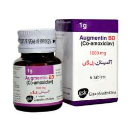 Medical Store Augmentin BD 6 Tablets - 1000mg - 1g