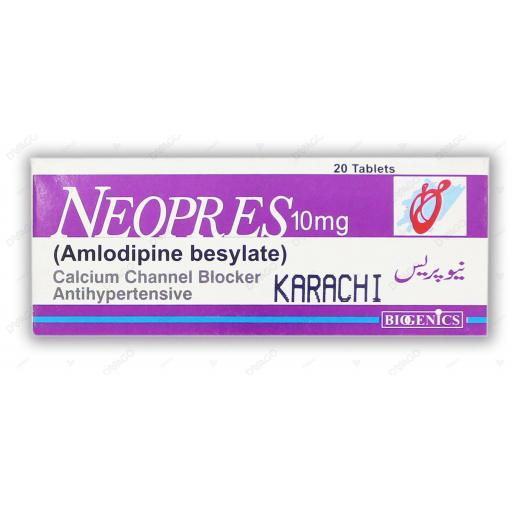 Neopres tablet 10 mg 2x10's