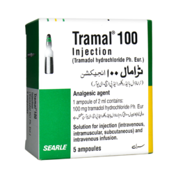 Tramal 100 Injection 5 ampoules