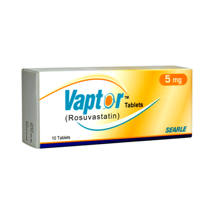 Vaptor tablet 5 mg 10's
