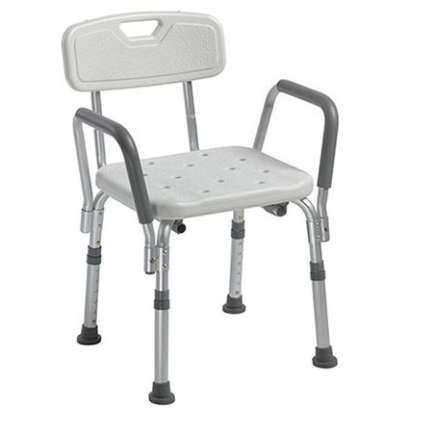 shower chair with arms for disabled