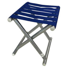 camping-stool blue color