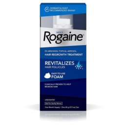 Men's Rogaine 5% Minoxidil Foam for Hair Loss and Hair Regrowth, Topical Treatment for Thinning Hair,