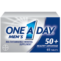 One A Day Men's 50+ Healthy Advantage Multivitamin, 65 Count