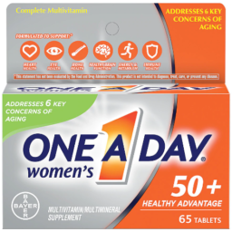 One A Day Women's 50+ Healthy Advantage Multivitamin, 65 Count