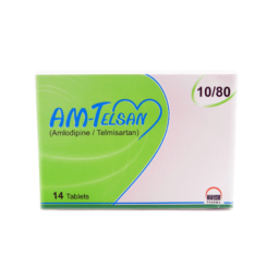 AM-Telsan Tab 10mg/80mg 14s