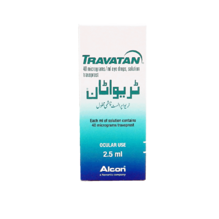 Travatan Eye Drops 2.5ml