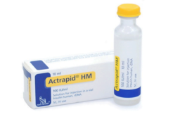 Actrapid HM Inj 100IU 1Vialx10ml