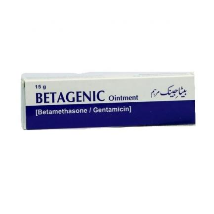 Betagenic Oint 15gm