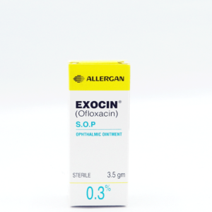 Exocin Ophthalmic Oint 0.3% 3.5g