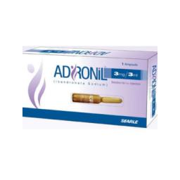 Adronil Inj 3mg 1Ampx3ml