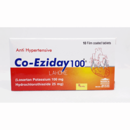 Co-Eziday Tab 100mg/25mg 10s