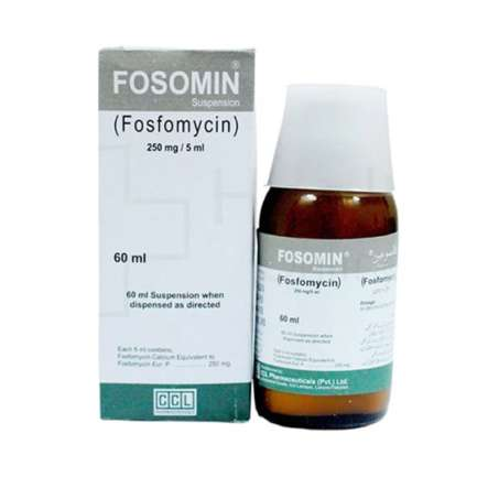 Fosomin Susp 250mg/5ml 60ml