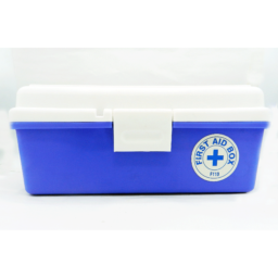 First Aid Box Empty Large 1s Model F-800 (Blue)