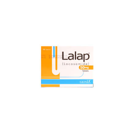 Lalap tablet 50 mg 14's