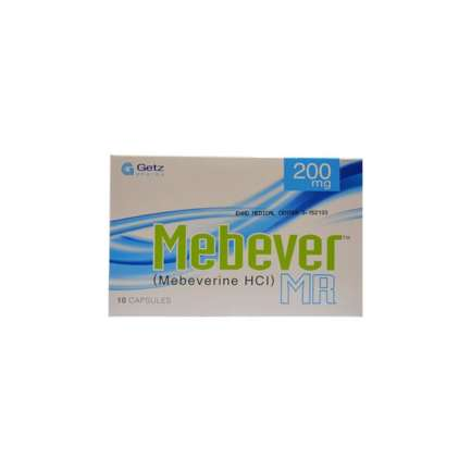Mebever MR capsule 200 mg 10's