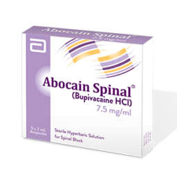 Abocain Spinal Injection 7.5 mg 5 Ampx2 mL