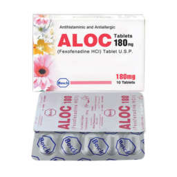 Aloc tablet 180 mg 10's