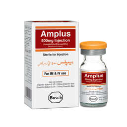 Amplus Injection 500 mg 1 Vial