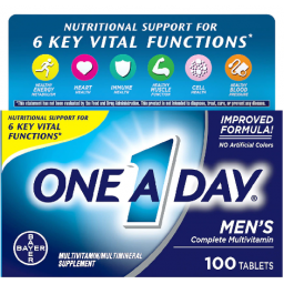 One A Day Mens 100ct Size Multivitamin Supplement