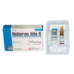 Heberon Alfa R Injection soln 3 MIU 1 Vial