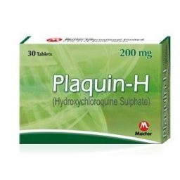 Plaquin-H tablet 200 mg 30's