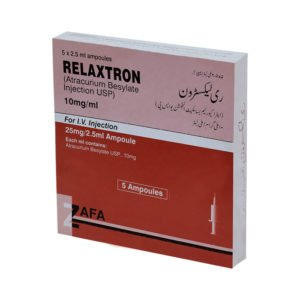 Relaxtron Injection 10 mg/mL 5 Ampx2.5 mL
