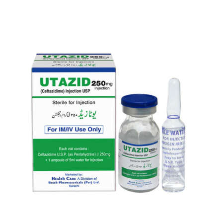 Utazid Injection 250 mg 1 Vial
