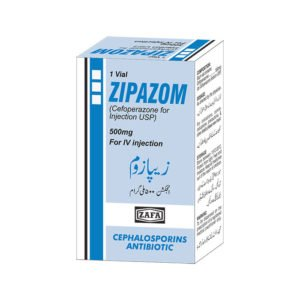 Zipazom Injection 500 mg 1 Vial