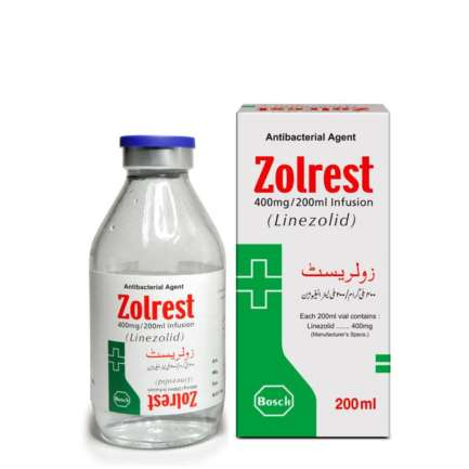 Zolrest Infusion 400 mg 200 mL