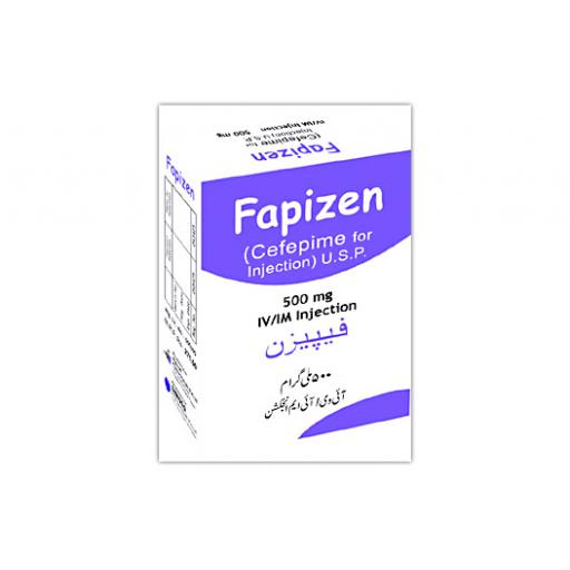 Fapizen Injection 500 mg 1 Vial