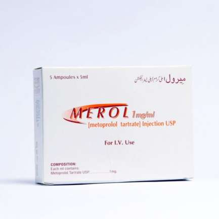 Merol IV Injection 5 mg 5 Ampx5 mL