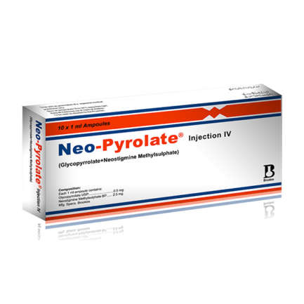 Neo-Pyrolate Injection 0.5/2.5 mg 10 Ampx1 mL