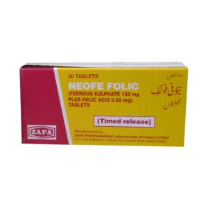 Neofe Folic tablet 30's