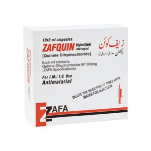 Zafquin Injection 10 Ampx2 mL