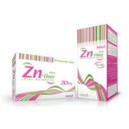 Zn-Once tablet Disp 20 mg 30's
